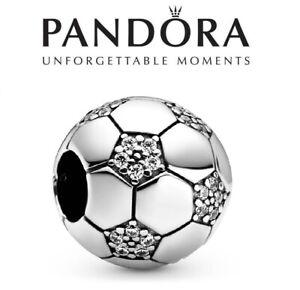 PANDORA Sparkling Soccer Football Charm
