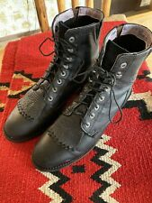 Ariat Paddock Boots Lace 7.5B Lightly Used
