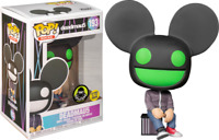 Deadmau5 Green Glow GITD #193 Funko Pop Vinyl New in Box