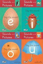 Mariquita __ 4 Set Libros __ SONIDOS & Imágenes Primero Reading Say EL __ NUEVO