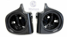 "Mutazu Unpainted 6.5"" Speaker Pods for Harley HD Lower Vented Fairings FLH FLT"