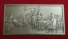 Franklin Mint Pewter Ingot - Signing Of The Declaration Of Independence