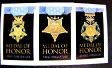 4988a MEDAL OF HONOR STRIP SELF-ADHESIVE NEW (SEE DESCRIPTION)