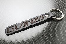 Toyota GLANZA Leather Keyring Keychain Schlüsselring Porte-clés GT Turbo V S