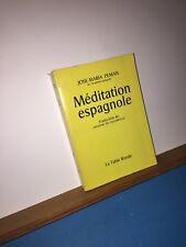 Méditation espagnole par José-Maria Peman