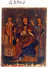 Olio su legno, Icona, Q3910