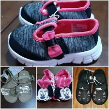 Lot of Toddler Girls Shoes size 7 & M 7/8 Disney Minnie Swiggles Sneakers Nwt