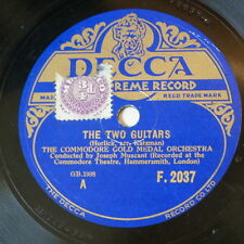 78rpm COMMODORE GOLD MEDAL ORCH the two guitars / liebesfreud [ kreisler ]