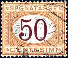 ITALIA - Regno - 1870-1894 - Segnatasse - Nuovi colori emissione 1870 - 50 c.