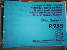 Lamborghini tracteur R955 : catalogue de pièces