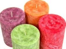 PALM WAX Pillar- CANDLE MAKING KIT- Iced candles - sand candles- moulds mold