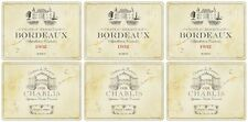 Pimpernel Vin De France Placemats  Set of 6