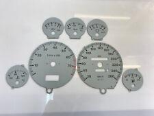 Audi 80 B4 Coupe dials Tachoscheiben - grey color *for VDO clusters*