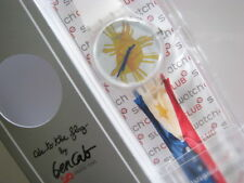 ODE TO THE FLAG! Swatch Philippine Flag FREEDOM ART Special by BENCAB! NIP-RARE!
