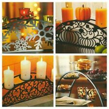 Partylite - Couture Hearthside Candle Holder with Three Panels