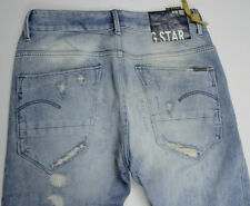 NEW RRP $299 Womens G-Star Raw Destroy 'ARC LOOSE TAPERED WMN' Jeans W26 L34