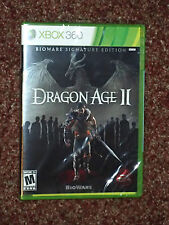DRAGON AGE II 2 BIOWARE SIGNATURE EDITION XBOX 360  NEW