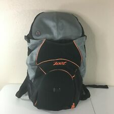 ZOOT Black Orange Triathlon Transition Bag Athletic Runners Cyclists Backpack