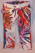 Roberto Cavalli Kids Floral Jeans Size 4 years