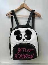 Betsey Johnson Panda Backpack Super Cute Rare