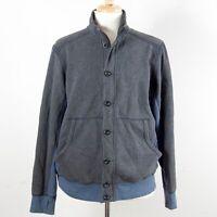 Tommy Bahama Zip Cotton Blend Island Modern Fit Jacket Men's L Thumbholes