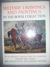 Dessins peintures militaires: Military drawings and paintings, 478 ill, 1970, BE