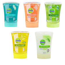 Dettol No Touch Antibacterial Hand Wash Refills x3,5,10 or 20 Various Fragrances