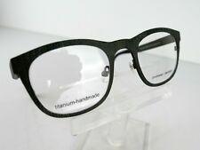 4c1b03d603 PRODESIGN DENMARK 4384 (9621) Olive Med. Matt 48 x 22 TITANIUM Eyeglass  Frames