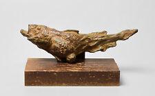 Japanese Bronze / Copper alloy Fish Okimono Statue by KITAMURA HARUYOSHI