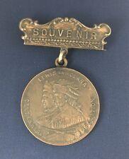 1905 Lewis & Clark Souvenir Centennial Exposition So-Called Dollar Medal Pin