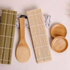 Bundle Sushi Making Kit Rice Maker Set Roller Mold Party Spoon Bamboo Chef Food