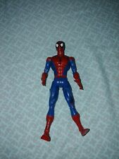 6� Super Poseable Spiderman Action Figure; By Marvel Ent, 2001. Loose joints