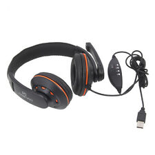 OVLENG-Q5 USB Jack Gaming Stereo Headphone Headset with Mic for PC Laptop US New