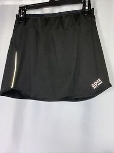 GORE Bike Wear Womens Bike Skirt With Attached Padded Shorts Black Size Small