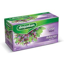Dogadan Sage Premium Herbal Tea ( 5 Boxes / 100 teabags ) UK Seller