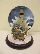 Bradford Exchange 'Lighting the Wind' Collectible Plate Shining Sentinels