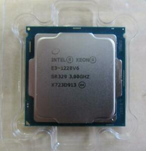 Intel Xeon E3-1220V6 SR329  3,00GHz LGA1151