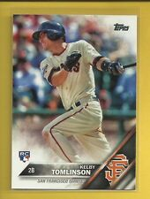 Kelby Tomlinson RC 2016 Topps Series 1 Rookie Card # 322 Giants Baseball