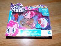 My Little Pony The Movie Pinkie Pie Flip & Flow Seapony Action Figure New Hasbro