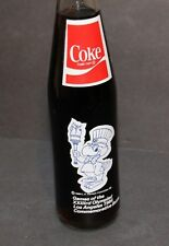 VINTAGE COKE BOTTLE UNOPENED 1980 OLYMPIC COMMITTE 1984 LA LOS ANGELES OLYMPICS