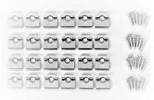 Armario estante de cultura Kit de hardware, Tornillos de Níquel champán-CD-0330 - hdwr