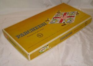 Vintage Parcheesi Gold Seal Edition Board Game - 1964 - Good Condition, Complete