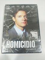 Homicidio Serie TV Volumen 10 - 3 x DVD Español Ingles Nueva