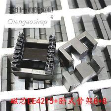 1ste E4215 Ferroxcube E42 EE EE42 Ferrite Cores transformer AL=4800  #Q1703 ZX