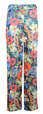 Polyester Flower High Trousers for Women