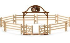 NEW Schleich Pony Club Horse Paddock Gate Fences 42434 for Stable Farm NEW 2018