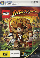 LEGO Game Indiana Jones 1 The Original Adventures for Windows PC Complete VGC
