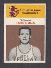 1961-62 Fleer TOM GOLA Philadelphia Warriors #14 Basketball Card