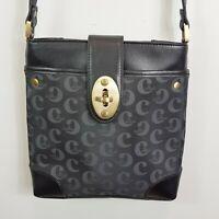 [ CELLINI ] Womens Leather mixed Jacquard Crossbody Bag / Handbag