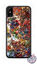 Marvel Comics Superheroes Fights Phone Case Cover For iPhone Samsung iPod Google